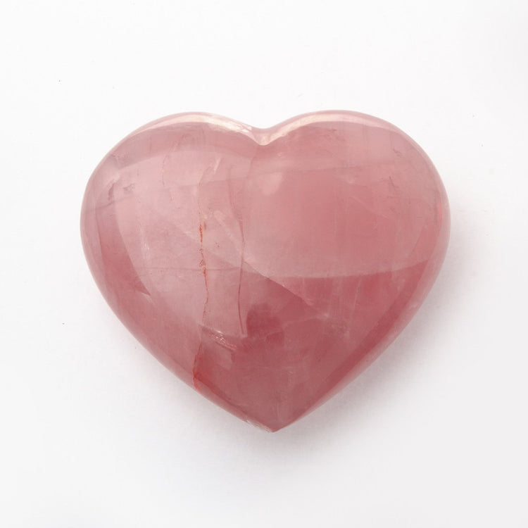 Soulstice Crystal Heart - Rose Quartz (X Large)
