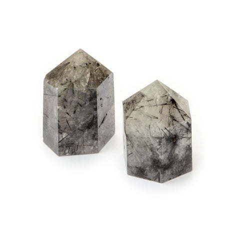 Soulstice Crystal Point - Tourmalinated Quartz