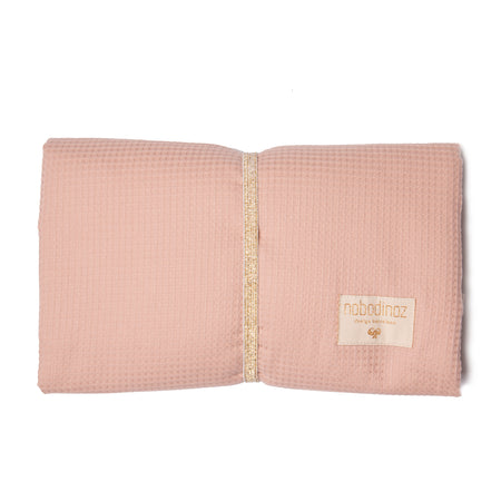 Nobodinoz Mozart Waterproof Changing Pad - Misty Pink