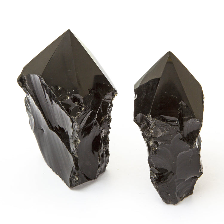 Soulstice Crystal Rough Point - Obsidian