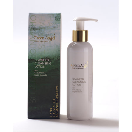 Green Angel Seaweed Cleansing Lotion With Cucumber & Sage Extracts