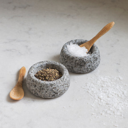 Granite Salt & Pepper Pots