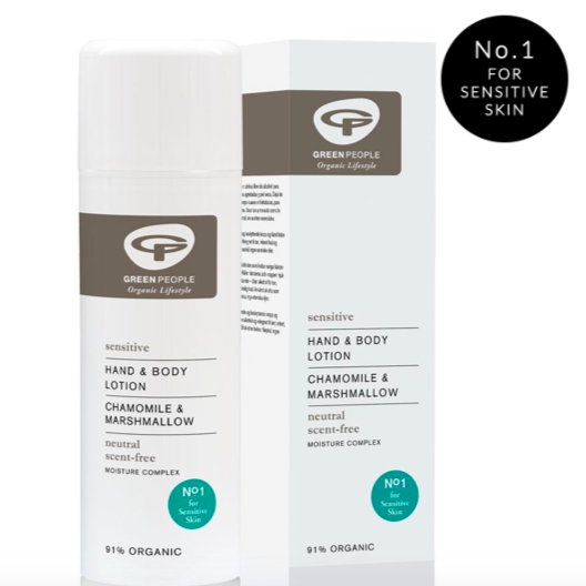 Green People Scent Free Hand & Body Lotion 150ml