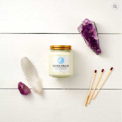 Corinne Taylor - Soy Aromatherapy Candle - Inner Peace