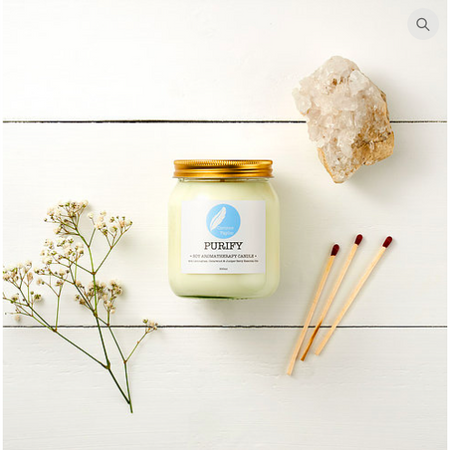 Corinne Taylor - Soy Aromatherapy Candle - Purify