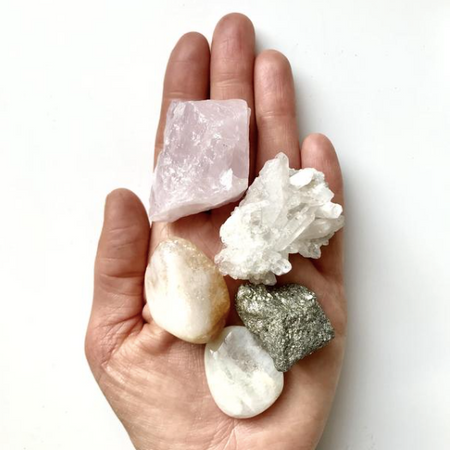Decadorn Crystal Wellbeing Kit - New Beginnings