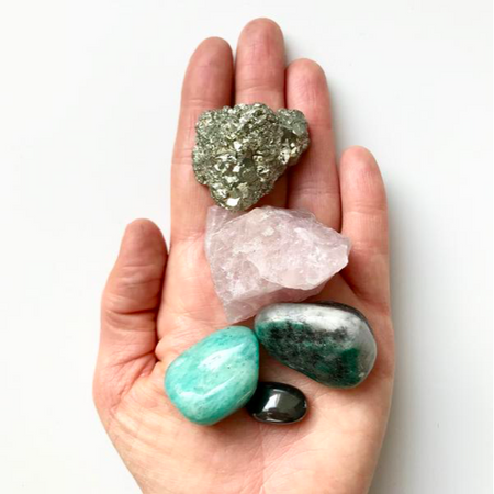 Decadorn Crystal Wellbeing Kit - Love & Friendship
