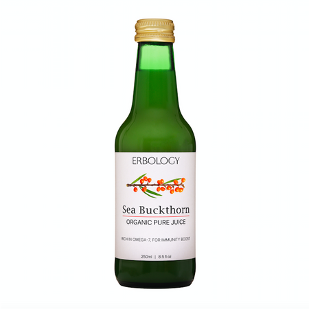 Erbology Organic Pure Sea Buckthorn Juice 250ml