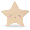 Wooden Star Tap Night Light