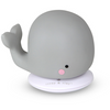 Small Rechargable Whale Light - Grey