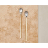 Sirkali Long Handled Spoon Set - Brushed Gold