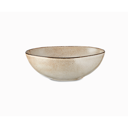 Nzari Serving Bowl - Cream