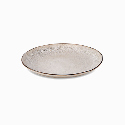 Nzari Side Plate - Cream