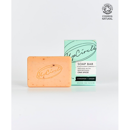 UpCircle - Cinnamon & Ginger Chai Soap Bar 100g