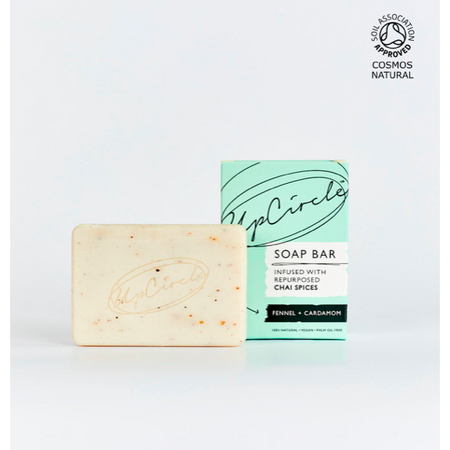 UpCircle - Fennel & Cardamom Chai Soap Bar 100g