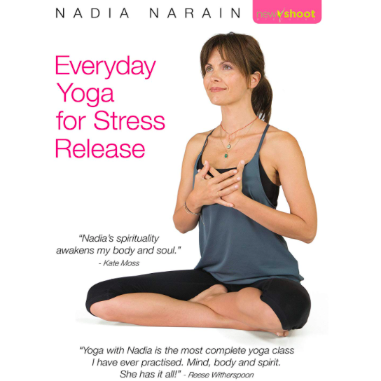 Everyday Yoga for Stress Release DVD - Nadia Narain
