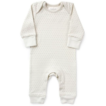 From Babies with Love - First Kisses Baby Grow French Grey