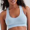 Jilla Active Infinity Bamboo Sports Bra - Light Blue