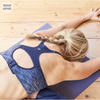 Jilla Active Cut-Out Cardio Sports Bra - Navy