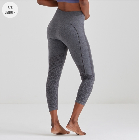 Jilla Active Wild Dreamer 7/8 Tights - Grey
