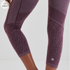 Jilla Active Wild Dreamer 7/8 Tights - Wine