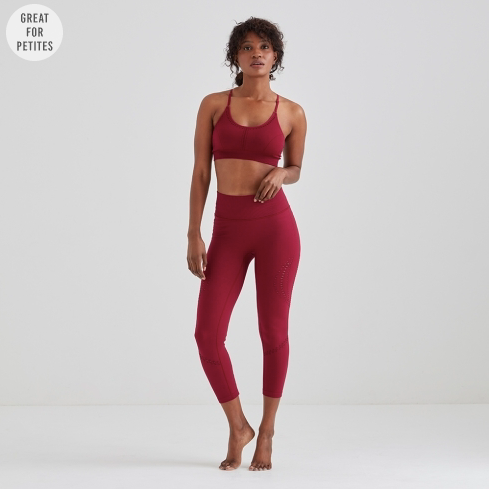 Jilla Active Lotus 7/8 Leggings - Raspberry