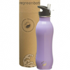 One Green Bottle Stainless Steel Curvy Bottle 800ml - Sea Lavender