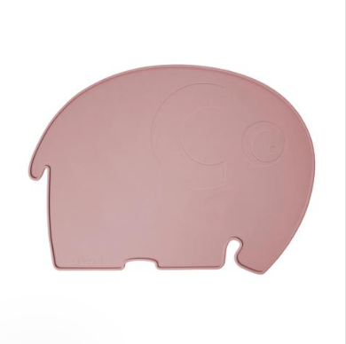 Sebra Silicone Placemat, Fanto the Elephant - Pink