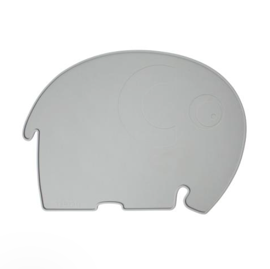 Sebra Silicone Placemat, Fanto the Elephant - Grey