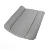 Sebra Quilted Pillow Changing Mat - Grey