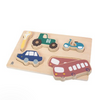 Sebra Chunky Wooden Puzzle - Little Driver