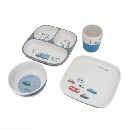 Sebra Kids Dinner Set - Little Driver