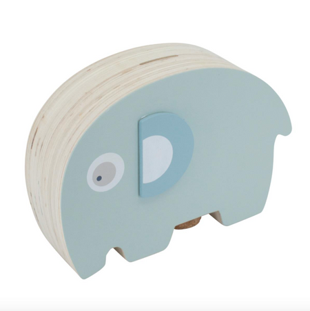Sebra Money Box - Lagoon Blue
