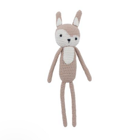 Sebra Crochet Toy - Siggy the Rabbit Birchbark