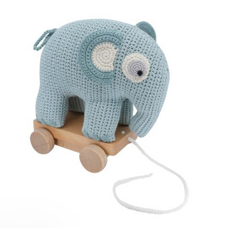 Sebra Pull-along Toy, Fanto - Blue Lagoon