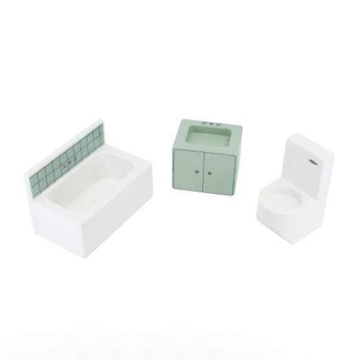 Sebra Dolls House Furniture - Bathroom