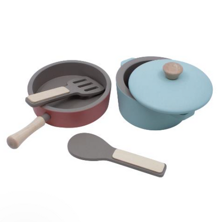 Sebra Role Play Kitchen - Pots and Pans