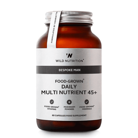 Wild Nutrition - Men's 45+ Food-Grown Daily Multi Nutrient