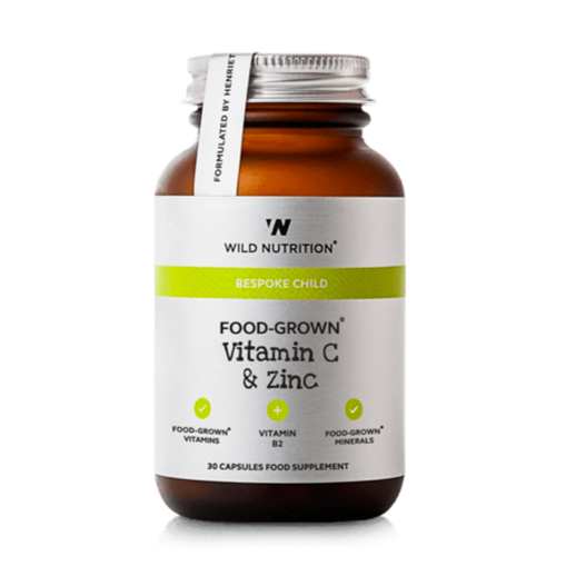 Wild Nutrition - Food-Grown Vitamin C & Zinc (Children's)