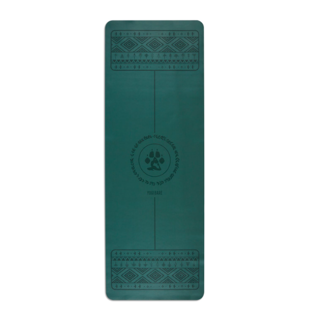 Yogi Bare Wild Paws Yoga Mat - Green