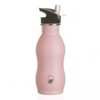 One Green Bottle Stainless Steel Curvy Bottle 500ml - Powder Pink