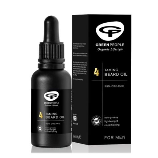 Green People for Men - No.4 Taming Beard Oil 30ml