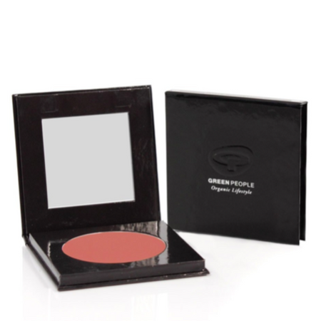 Green People - Mineral Powder Blush - Rose