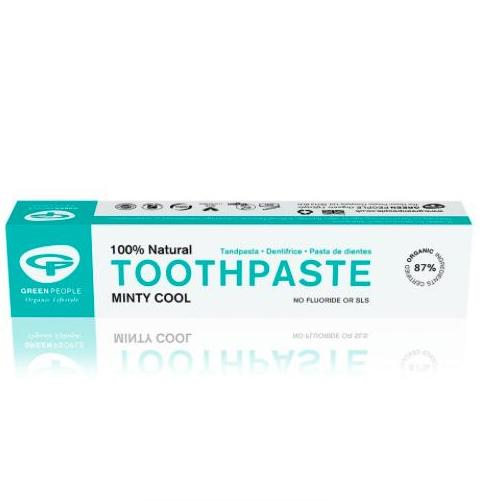 Green People Minty Cool Toothpaste 50ml (Fluoride Free)