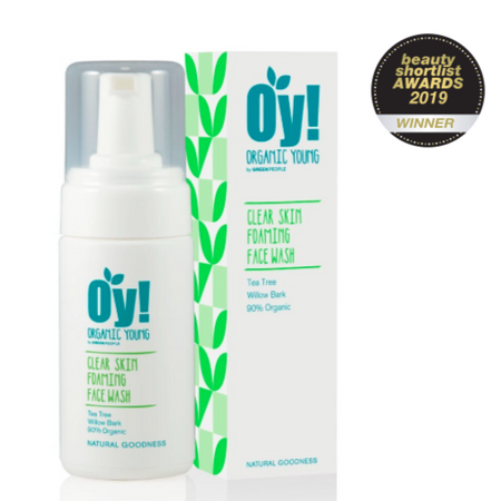 Green People Oy! - Clear Skin Foaming Face Wash 100ml