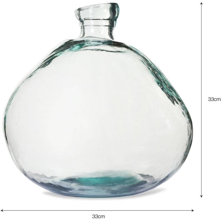 Glass Bubble Vase (2 sizes)
