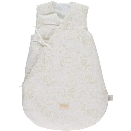 Nobodinoz Cloud Winter Sleeping Bag (0-6 Months) - Gold Bubble/White