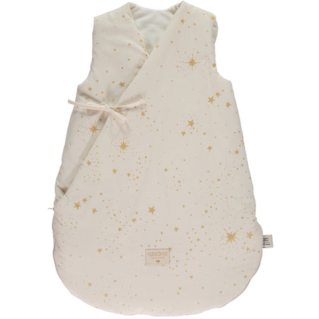 Nobodinoz Cloud Winter Sleeping Bag (0-6 Months) - Gold Stella/Natural