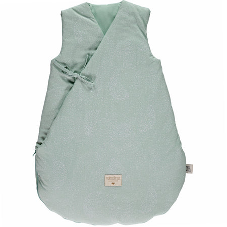 Nobodinoz Cloud Winter Sleeping Bag (6-18 Months) - White Bubble/Aqua