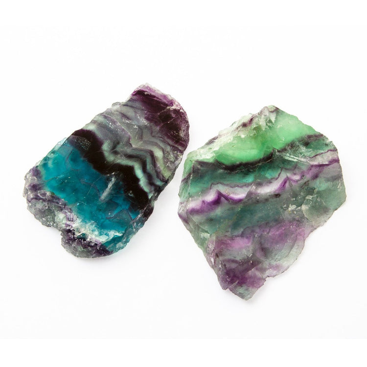 Soulstice Crystal Rough - Fluorite Slice